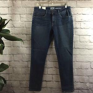 🆕 Levi's modern skinny 12M dark blue jeans